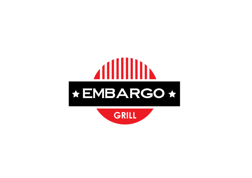 Logo Design by Severiano Fernandes - Entry No. 45 in the Logo Design Contest Captivating Logo Design for Embargo Grill.