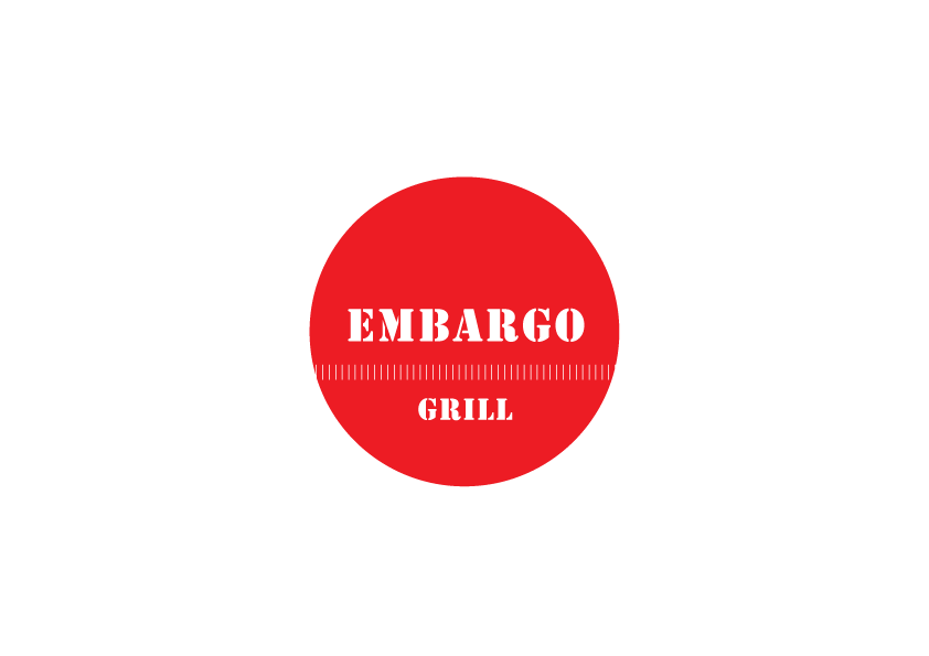 Logo Design by Severiano Fernandes - Entry No. 46 in the Logo Design Contest Captivating Logo Design for Embargo Grill.