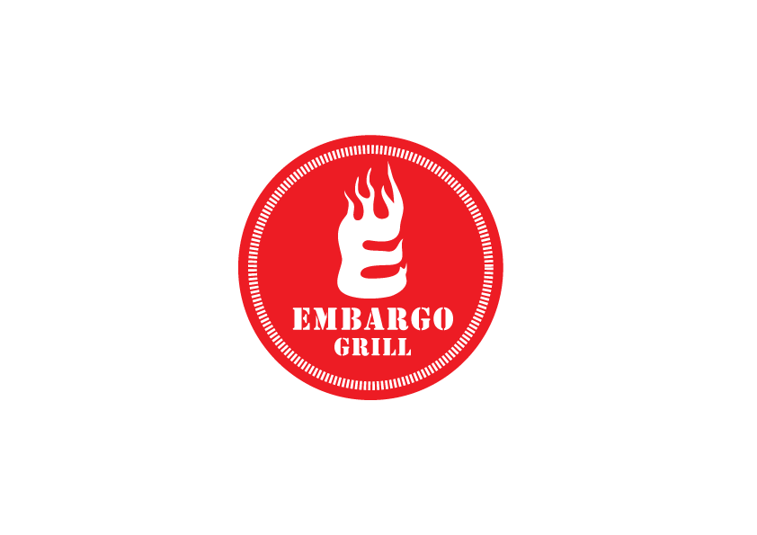 Logo Design by Severiano Fernandes - Entry No. 47 in the Logo Design Contest Captivating Logo Design for Embargo Grill.