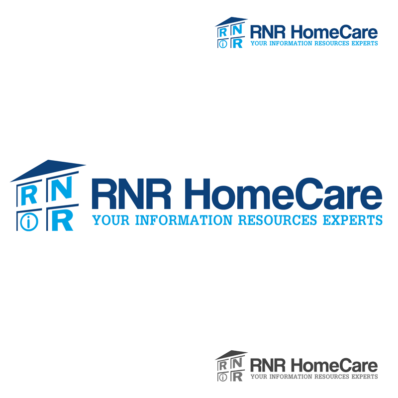 Logo Design by Robert Turla - Entry No. 85 in the Logo Design Contest Imaginative Logo Design for RNR HomeCare.