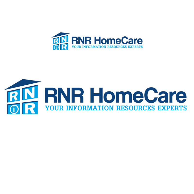 Logo Design by Private User - Entry No. 86 in the Logo Design Contest Imaginative Logo Design for RNR HomeCare.