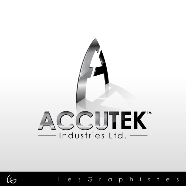Logo Design by Les-Graphistes - Entry No. 31 in the Logo Design Contest Accutek Industries Ltd..