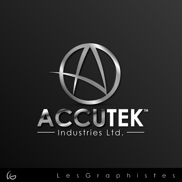 Logo Design by Les-Graphistes - Entry No. 32 in the Logo Design Contest Accutek Industries Ltd..