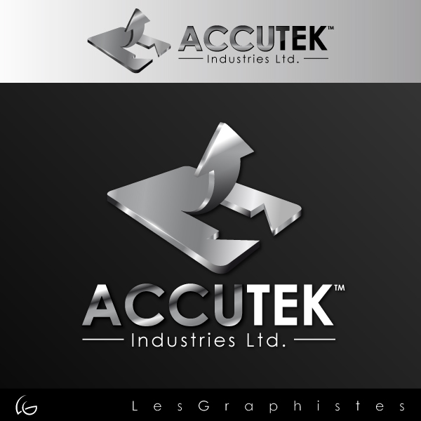 Logo Design by Les-Graphistes - Entry No. 33 in the Logo Design Contest Accutek Industries Ltd..