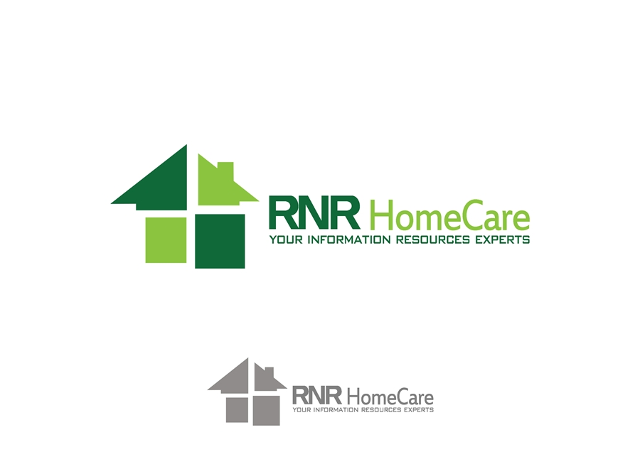 Logo Design by Respati Himawan - Entry No. 90 in the Logo Design Contest Imaginative Logo Design for RNR HomeCare.