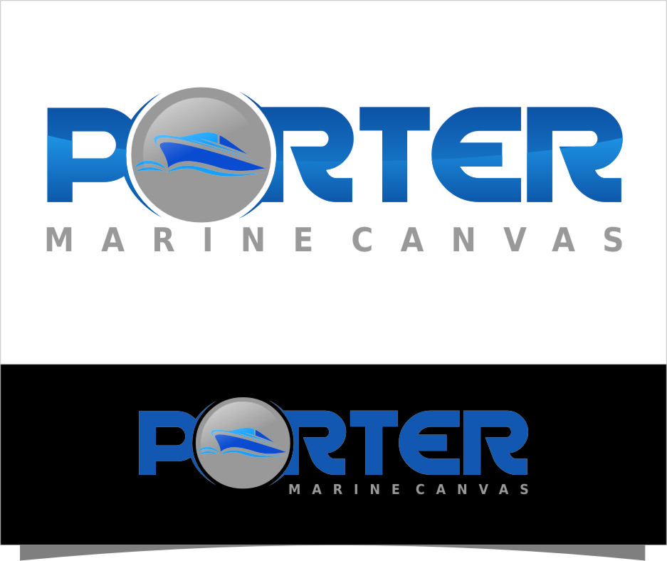 Logo Design by RasYa Muhammad Athaya - Entry No. 101 in the Logo Design Contest Imaginative Logo Design for Porter Marine Canvas.