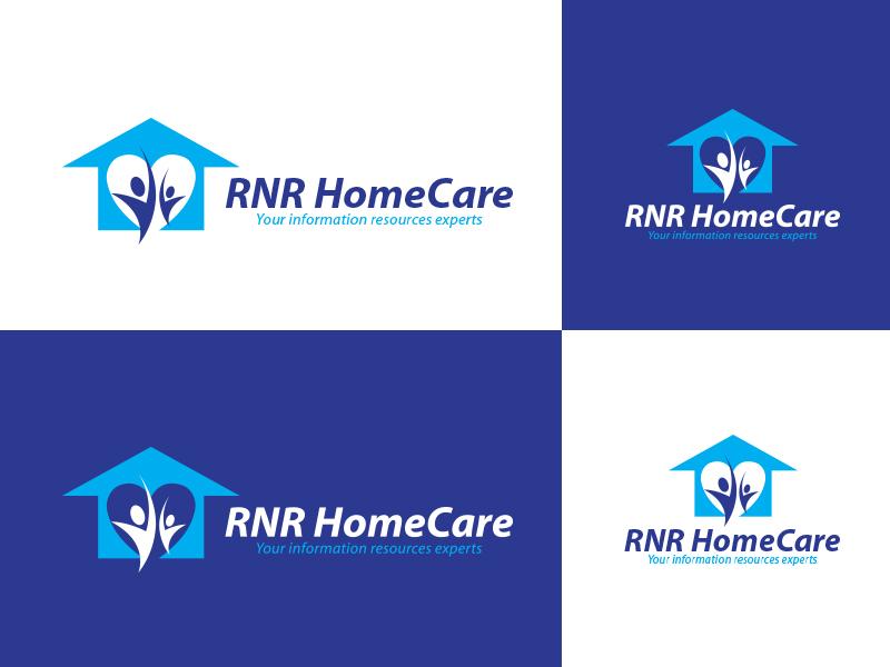 Logo Design by Sai Prathik - Entry No. 93 in the Logo Design Contest Imaginative Logo Design for RNR HomeCare.