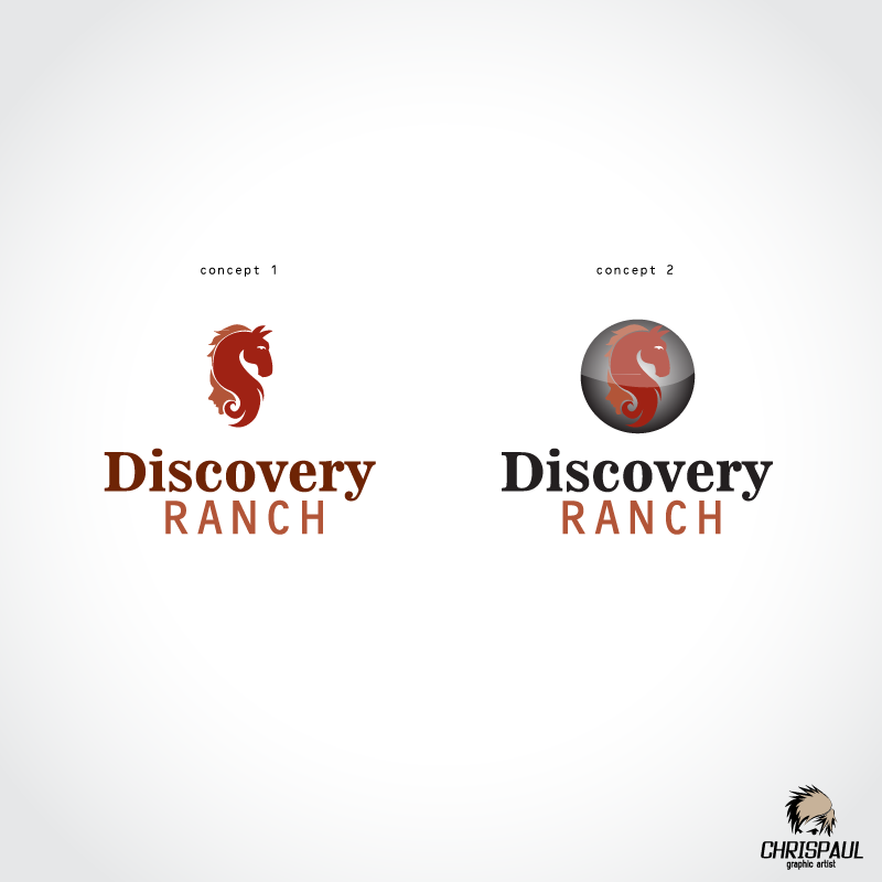 Logo Design by zesthar - Entry No. 15 in the Logo Design Contest Creative Logo Design for Discovery Ranch.