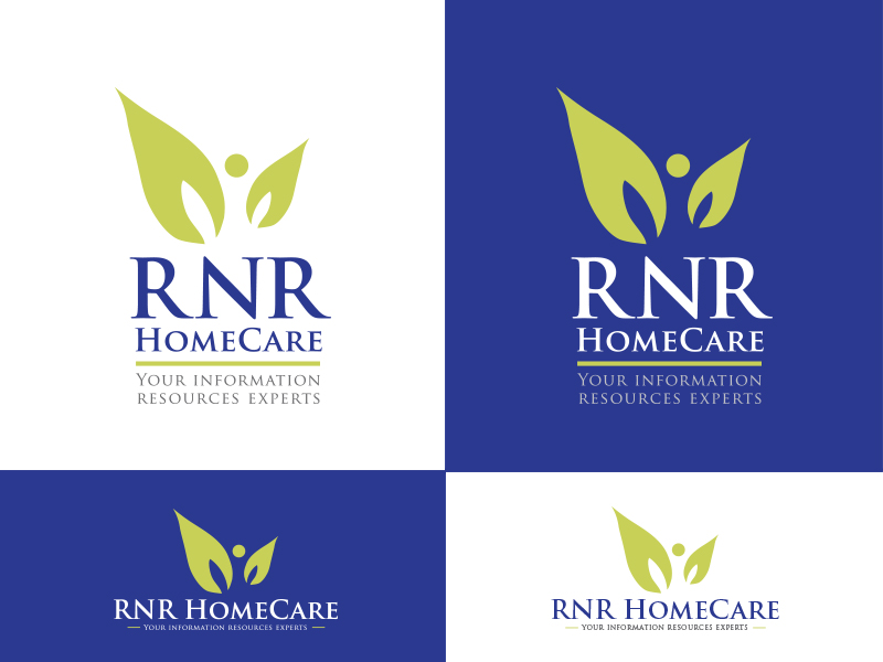 Logo Design by Sai Prathik - Entry No. 94 in the Logo Design Contest Imaginative Logo Design for RNR HomeCare.