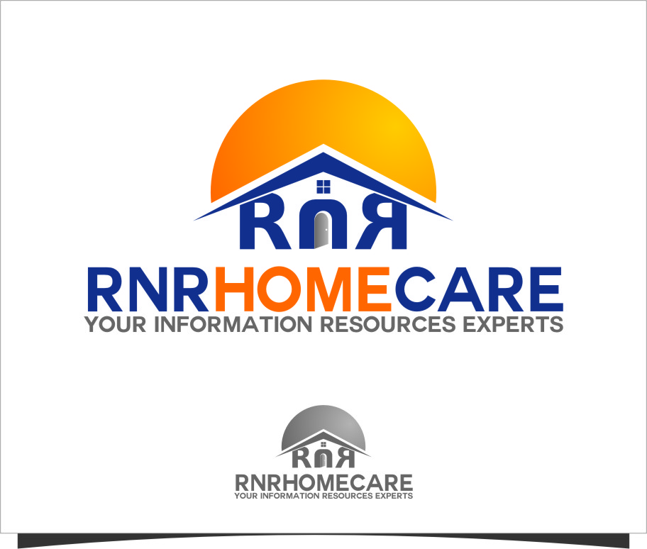 Logo Design by RasYa Muhammad Athaya - Entry No. 98 in the Logo Design Contest Imaginative Logo Design for RNR HomeCare.