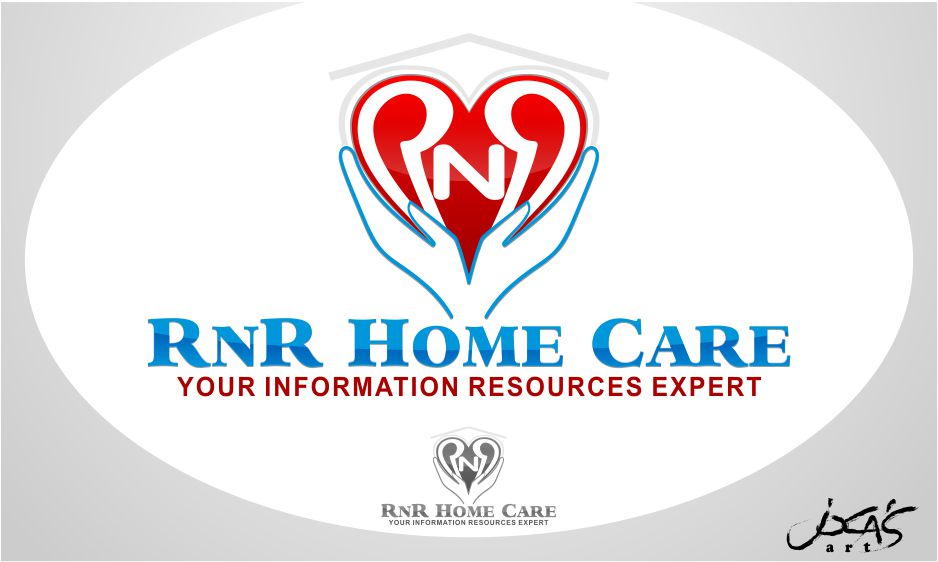 Logo Design by joca - Entry No. 99 in the Logo Design Contest Imaginative Logo Design for RNR HomeCare.