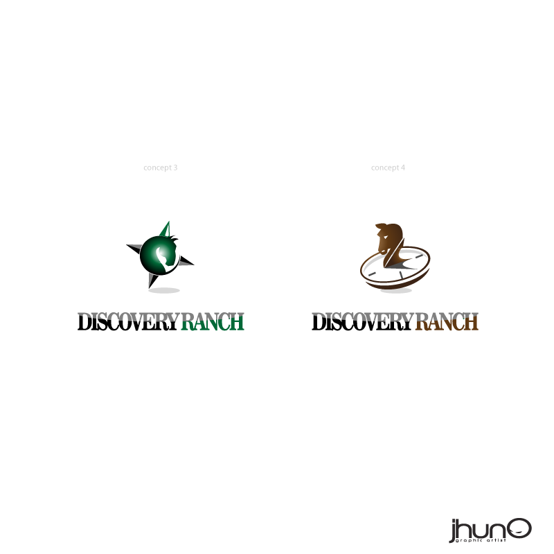 Logo Design by zesthar - Entry No. 18 in the Logo Design Contest Creative Logo Design for Discovery Ranch.