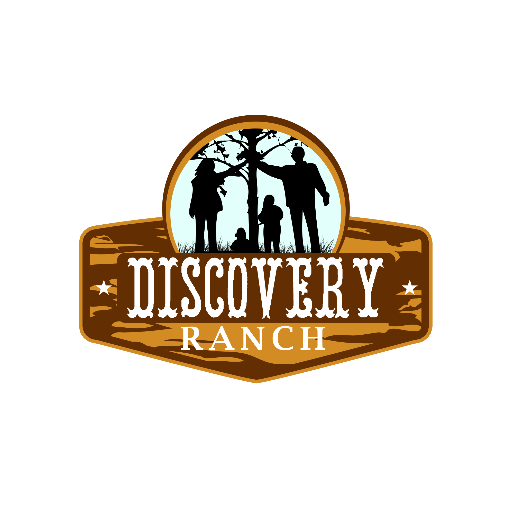 Logo Design by Kenneth Joel - Entry No. 19 in the Logo Design Contest Creative Logo Design for Discovery Ranch.