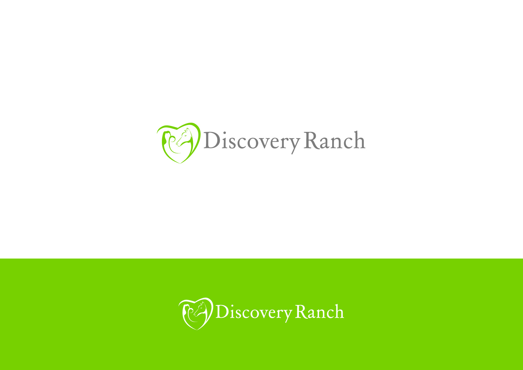 Logo Design by Osi Indra - Entry No. 22 in the Logo Design Contest Creative Logo Design for Discovery Ranch.