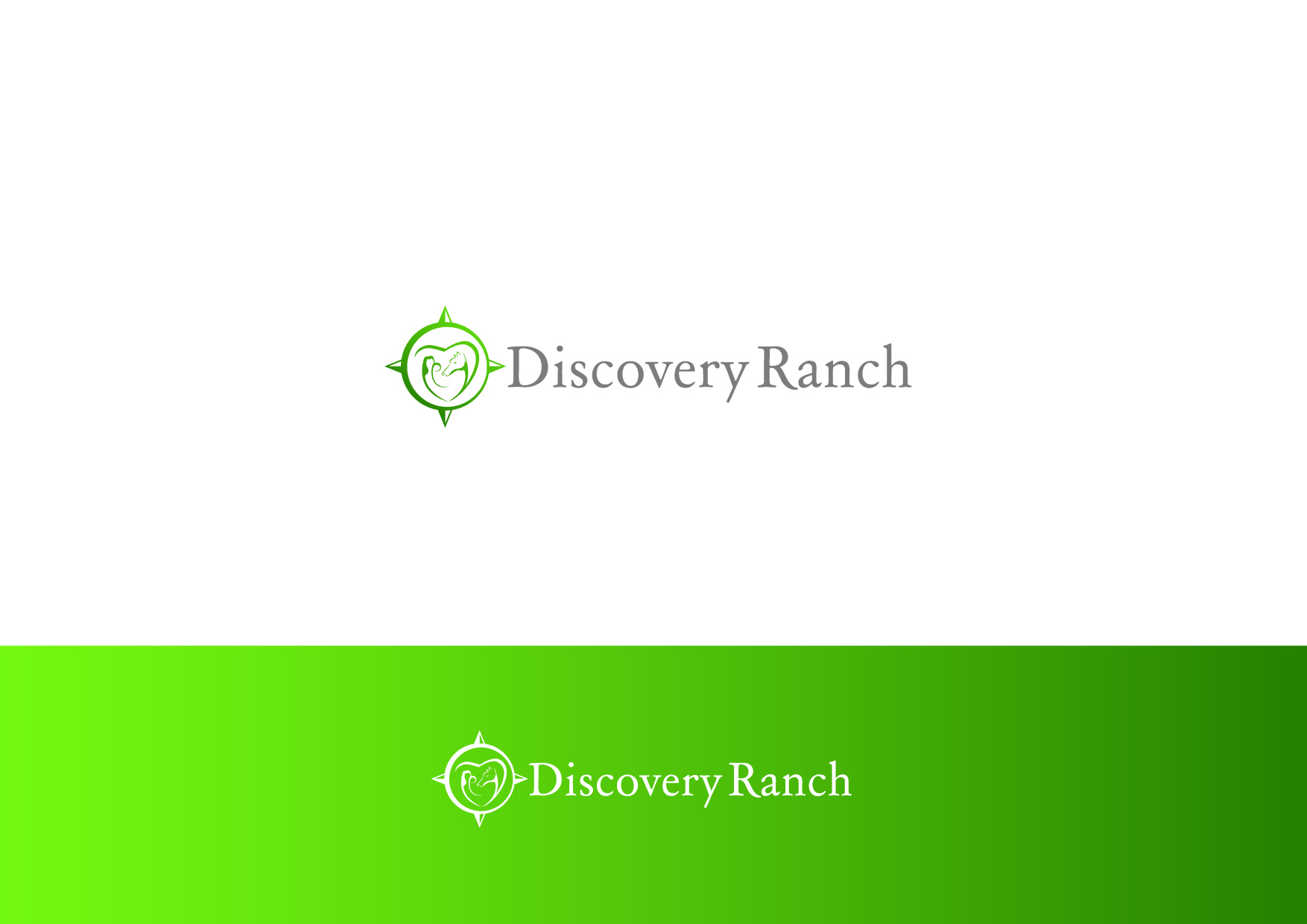 Logo Design by Osi Indra - Entry No. 23 in the Logo Design Contest Creative Logo Design for Discovery Ranch.