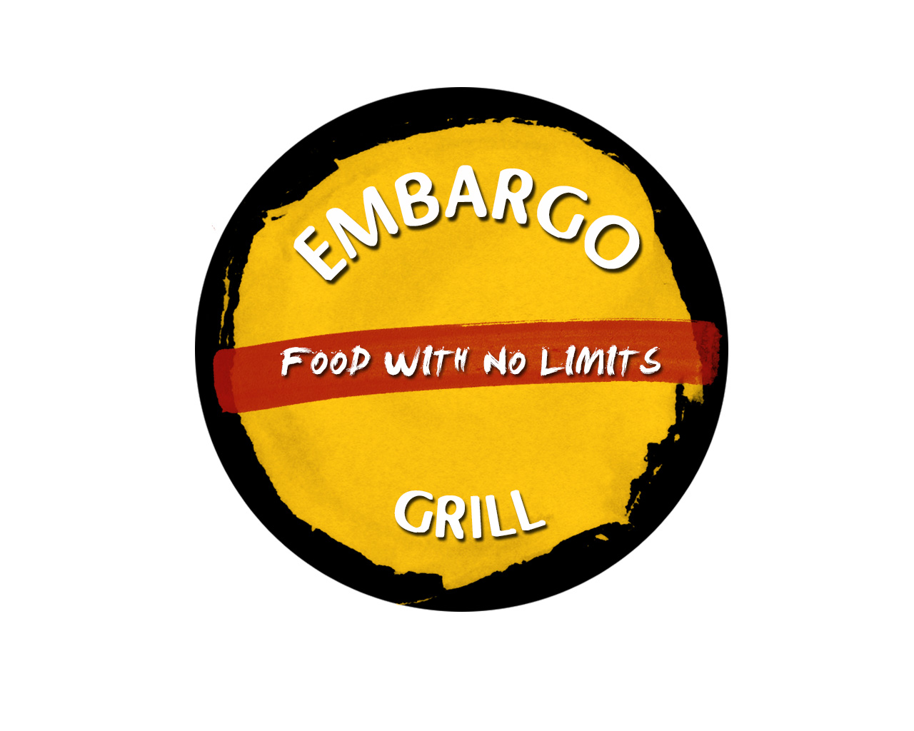 Logo Design by Ioanna Rokka - Entry No. 51 in the Logo Design Contest Captivating Logo Design for Embargo Grill.
