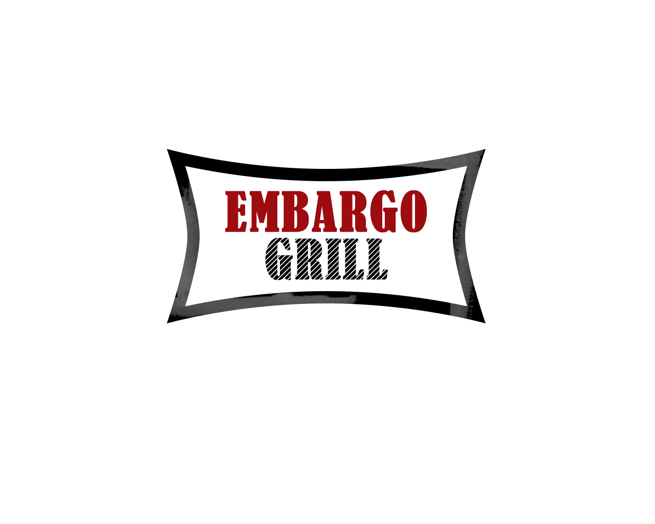 Logo Design by Ioanna Rokka - Entry No. 52 in the Logo Design Contest Captivating Logo Design for Embargo Grill.