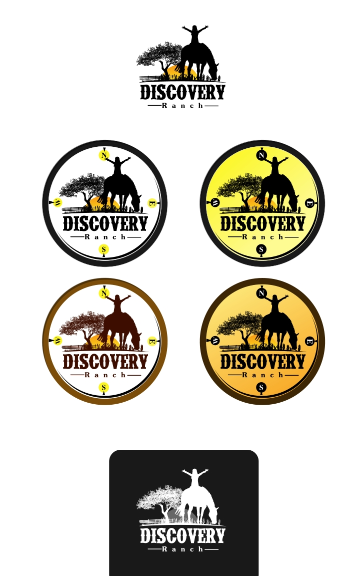Logo Design by Private User - Entry No. 24 in the Logo Design Contest Creative Logo Design for Discovery Ranch.