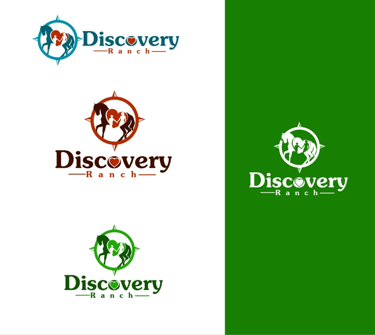 Logo Design by Private User - Entry No. 25 in the Logo Design Contest Creative Logo Design for Discovery Ranch.