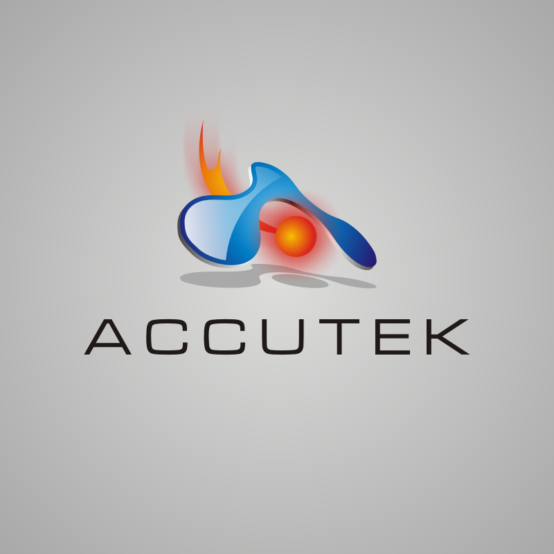 Logo Design by asti - Entry No. 40 in the Logo Design Contest Accutek Industries Ltd..