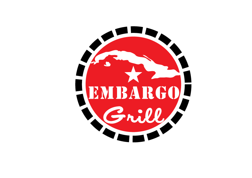 Logo Design by Severiano Fernandes - Entry No. 54 in the Logo Design Contest Captivating Logo Design for Embargo Grill.