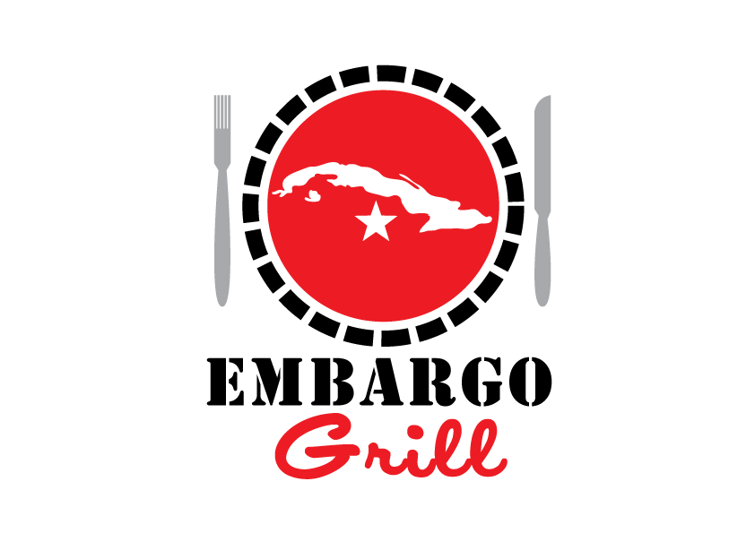 Logo Design by Severiano Fernandes - Entry No. 55 in the Logo Design Contest Captivating Logo Design for Embargo Grill.