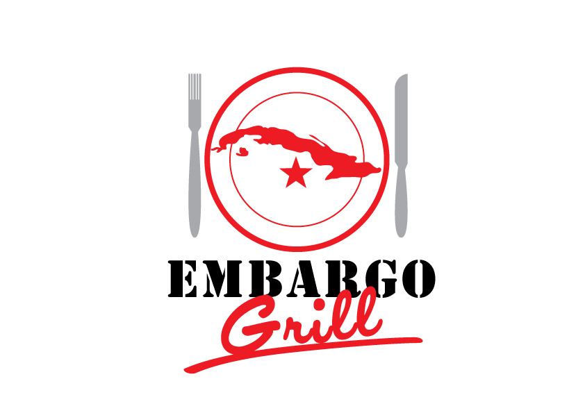 Logo Design by Severiano Fernandes - Entry No. 56 in the Logo Design Contest Captivating Logo Design for Embargo Grill.