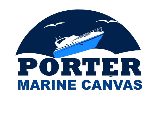 Logo Design by Ismail Adhi Wibowo - Entry No. 112 in the Logo Design Contest Imaginative Logo Design for Porter Marine Canvas.