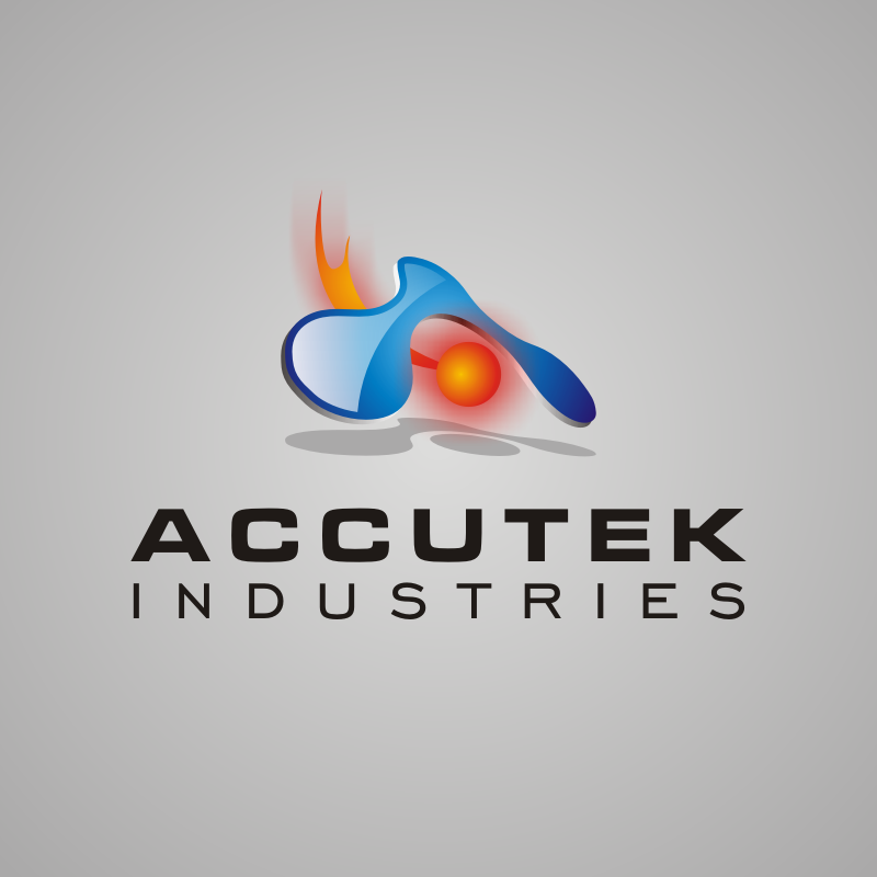 Logo Design by asti - Entry No. 41 in the Logo Design Contest Accutek Industries Ltd..