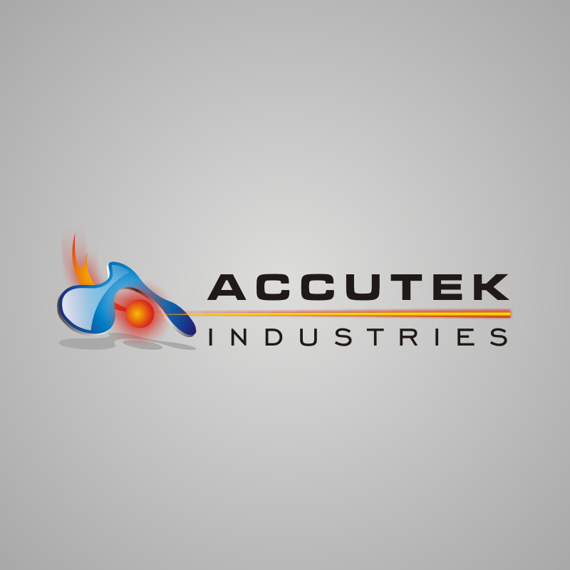 Logo Design by asti - Entry No. 42 in the Logo Design Contest Accutek Industries Ltd..