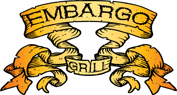 Logo Design by Lefky - Entry No. 59 in the Logo Design Contest Captivating Logo Design for Embargo Grill.