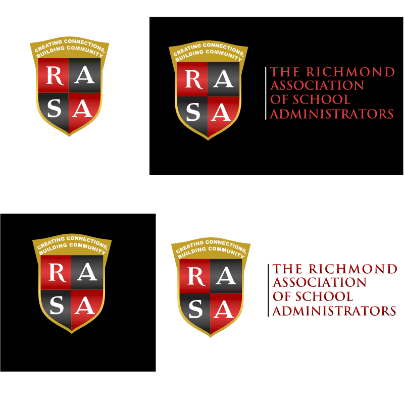 Logo Design by RAJU CHATTERJEE - Entry No. 10 in the Logo Design Contest New Logo Design for RASA - Richmond Association of School Administrato.