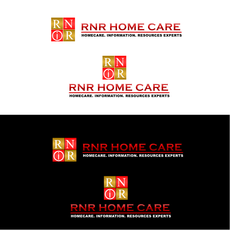 Logo Design by RAJU CHATTERJEE - Entry No. 103 in the Logo Design Contest Imaginative Logo Design for RNR HomeCare.