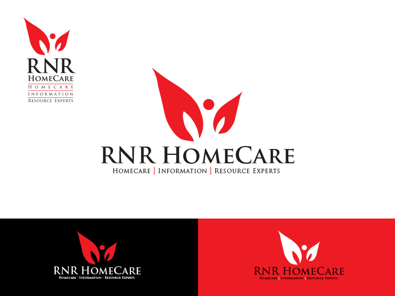 Logo Design by Sai Prathik - Entry No. 104 in the Logo Design Contest Imaginative Logo Design for RNR HomeCare.