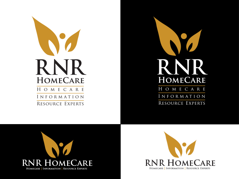 Logo Design by Sai Prathik - Entry No. 105 in the Logo Design Contest Imaginative Logo Design for RNR HomeCare.