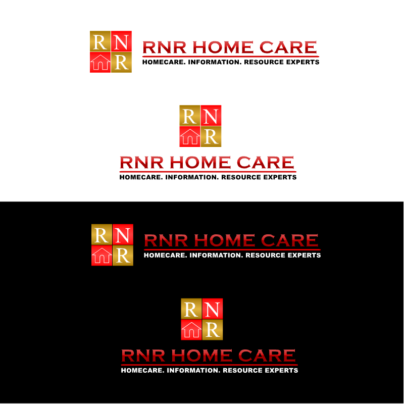 Logo Design by RAJU CHATTERJEE - Entry No. 106 in the Logo Design Contest Imaginative Logo Design for RNR HomeCare.