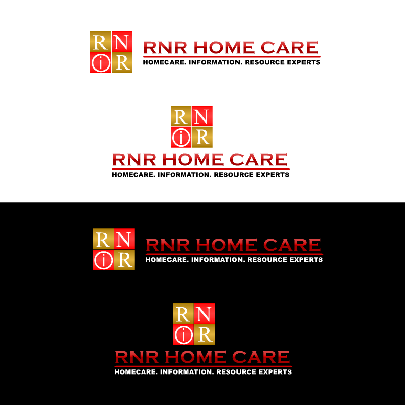 Logo Design by RAJU CHATTERJEE - Entry No. 107 in the Logo Design Contest Imaginative Logo Design for RNR HomeCare.