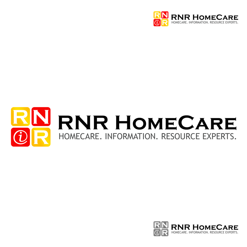 Logo Design by Robert Turla - Entry No. 110 in the Logo Design Contest Imaginative Logo Design for RNR HomeCare.