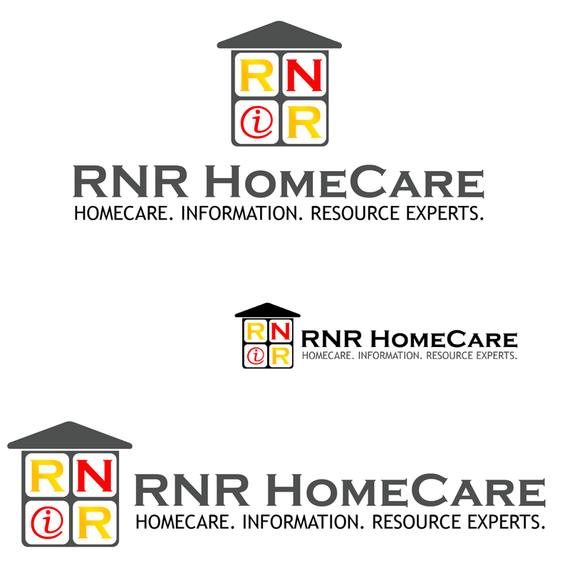 Logo Design by Private User - Entry No. 112 in the Logo Design Contest Imaginative Logo Design for RNR HomeCare.