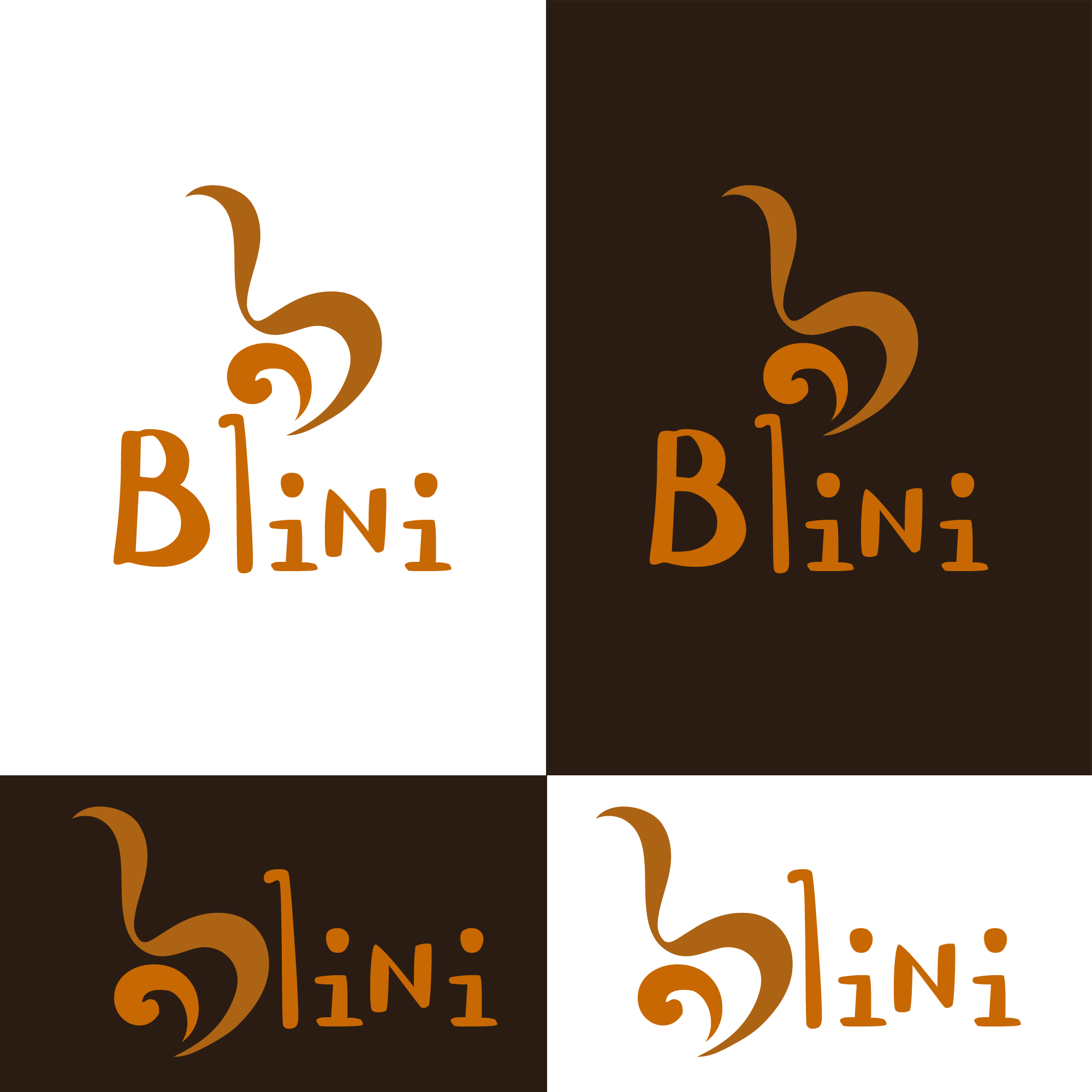 Logo Design by Kenneth Joel - Entry No. 7 in the Logo Design Contest Creative Logo Design for Blinì.