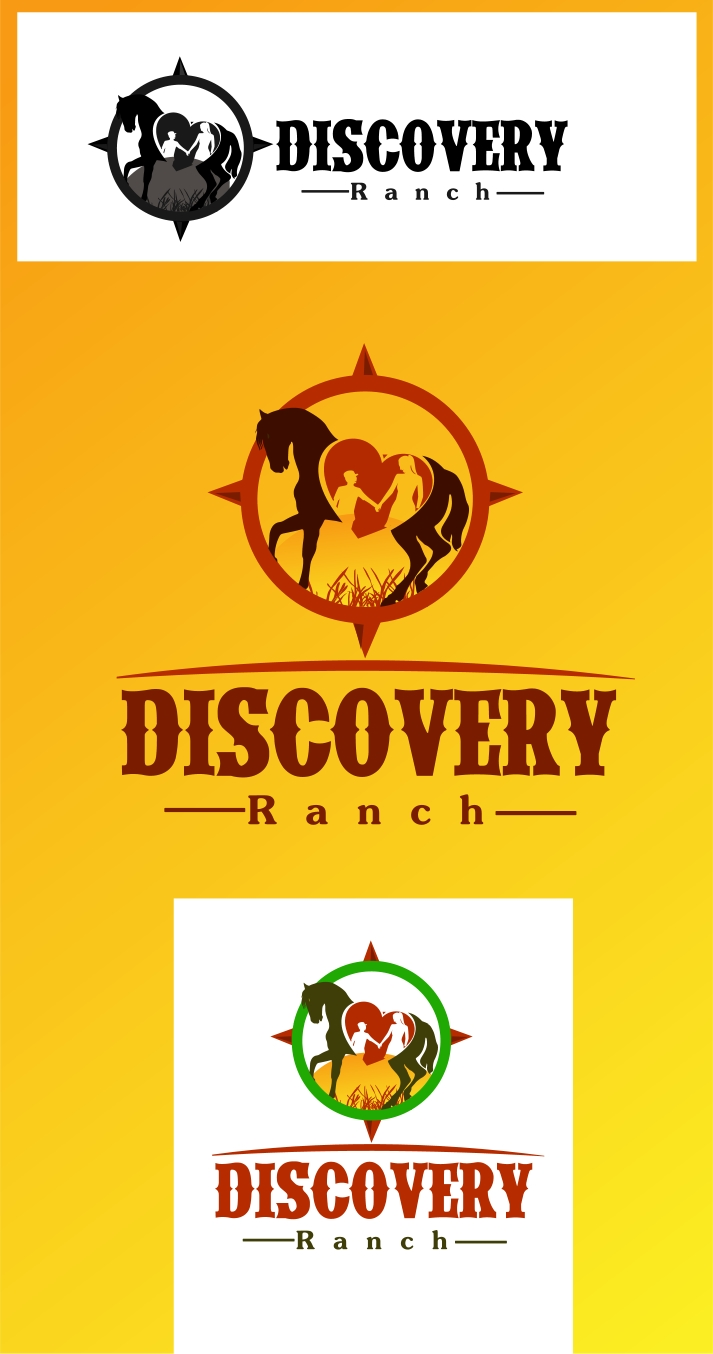Logo Design by Private User - Entry No. 30 in the Logo Design Contest Creative Logo Design for Discovery Ranch.