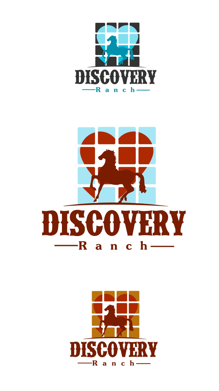 Logo Design by Private User - Entry No. 31 in the Logo Design Contest Creative Logo Design for Discovery Ranch.