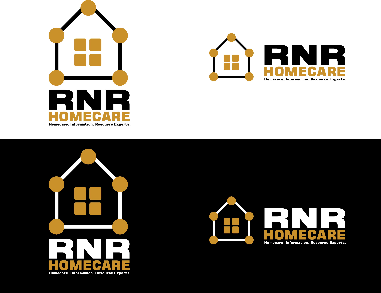 Logo Design by 3draw - Entry No. 119 in the Logo Design Contest Imaginative Logo Design for RNR HomeCare.
