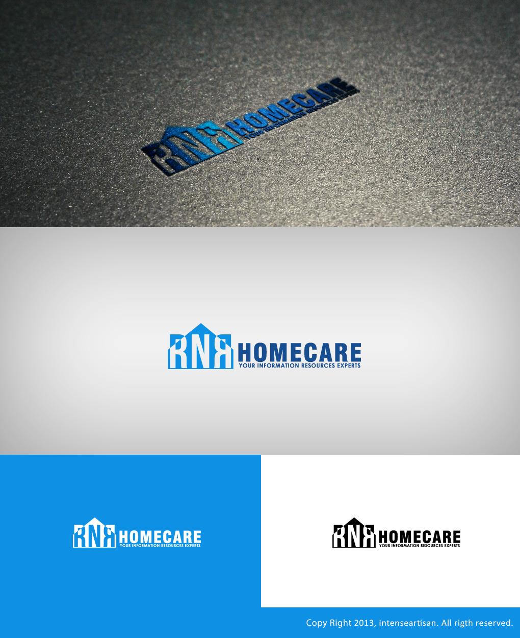 Logo Design by Virgilio Pineda III - Entry No. 122 in the Logo Design Contest Imaginative Logo Design for RNR HomeCare.