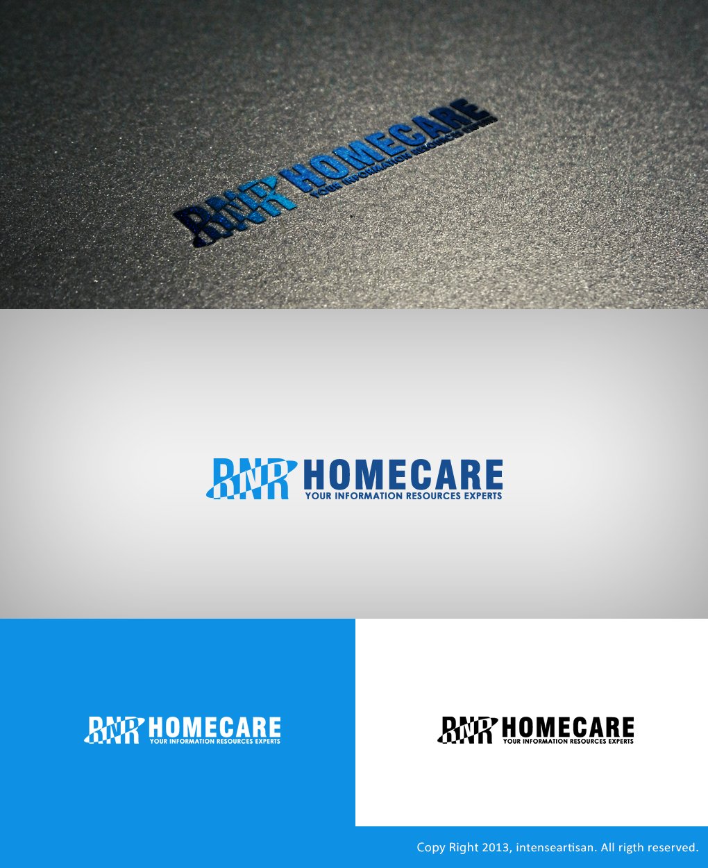 Logo Design by Virgilio Pineda III - Entry No. 125 in the Logo Design Contest Imaginative Logo Design for RNR HomeCare.