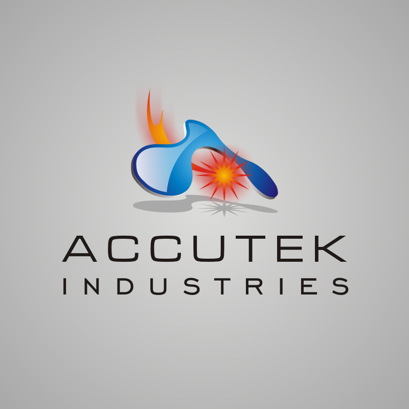 Logo Design by asti - Entry No. 51 in the Logo Design Contest Accutek Industries Ltd..