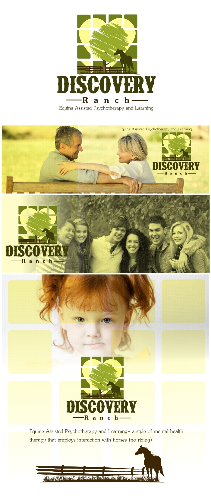 Logo Design by Private User - Entry No. 34 in the Logo Design Contest Creative Logo Design for Discovery Ranch.