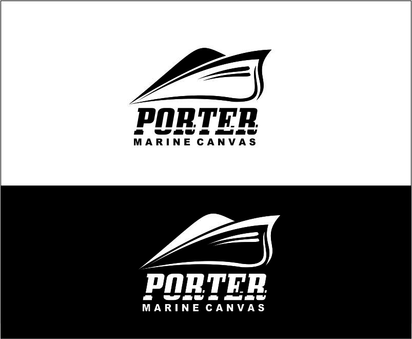 Logo Design by Agus Martoyo - Entry No. 120 in the Logo Design Contest Imaginative Logo Design for Porter Marine Canvas.