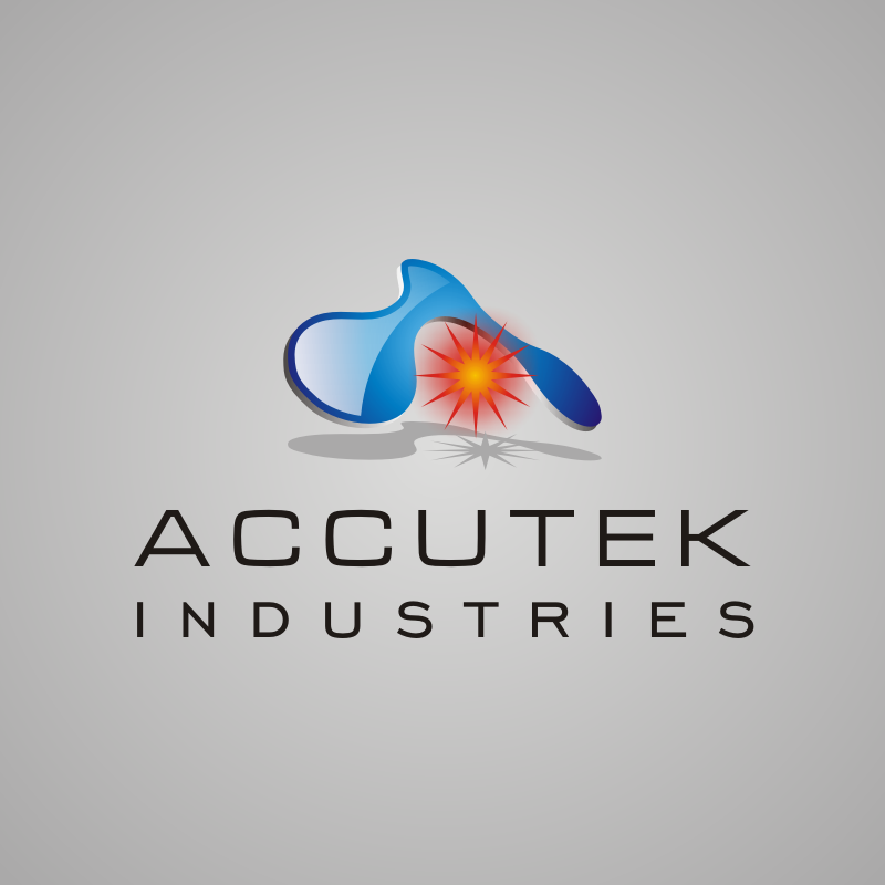 Logo Design by asti - Entry No. 52 in the Logo Design Contest Accutek Industries Ltd..