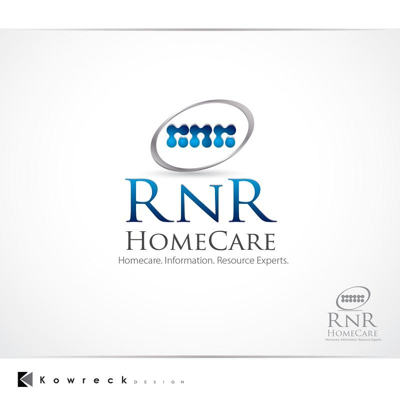 Logo Design by kowreck - Entry No. 132 in the Logo Design Contest Imaginative Logo Design for RNR HomeCare.